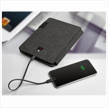 Multifunction A5 Business Padfolio Organiser built 5000 mAh Power Bank