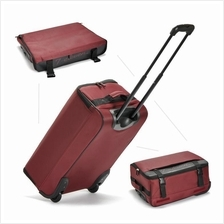 Foldable Trolley 22 inch Luggage Suitcase With 2 Wheels