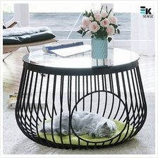 Creative Tempered Glass Cat Cage Coffee Table (1 month pre-order