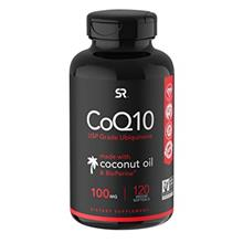 US. CoQ10 Enhanced with Coconut Oil  & Bioperine (Black Pepper) for Better Abs