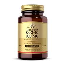 US. Solgar Megasorb CoQ-10 100 mg, 60 Softgels - Supports Heart Function  & He