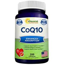 US. CoQ10 (400mg Max Strength, 200 Capsules) - High Absorption Vegan Coenzyme