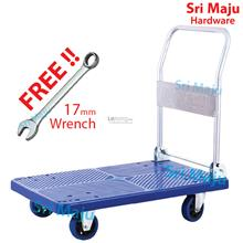 MAJU 150kg Quality Foldable Material Handling Hand Truck Trolley