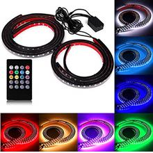 From USA SOCAL-LED 4x Car LED Strip Lights RGB 8 Color LED Underglow Kit Under