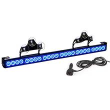 From USA Blue Emergency Fire Strobe Vehicle Lights Bar For Firefighters Car Tr