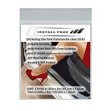 From USA Install Proz Self-Healing Clear Paint Protection Bra—Door Sill Kit
