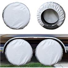 From USA Kayme Four Layers Tire Covers Set of 4 for Rv Travel Trailer Camper V