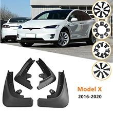 From USA Nansure Tesla Model X Mud Flaps Splash Guards Mudguard Mudflaps Acces