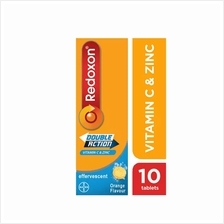 Redoxon Vitamin C 1000mg + Zinc 10 Effervescent tablets [ORANGE]