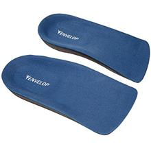 US. Envelop Shoe Inserts - Half Insole for Plantar Fasciitis, Arch Support, He