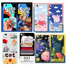 OPPO F1S F1plus F3 F5 Neo7 A33 A53 A83 R15 R15pro casing cartoon soft