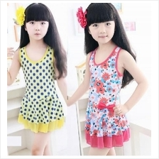 Girls Swimsuit Swim Dress (3306)