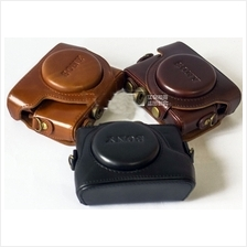 Leather Case for Sony DSC RX-100 RX100 II III M2 M3