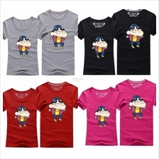 Crayon Shin-chan Couple T-Shirts Men and Lady Size available