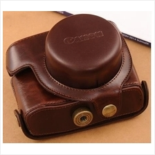 Leather Case for Canon Powershot G1X MarkII G1X2 (TJMY)