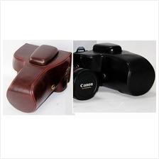 Leather Case for CANON 550DD 1100D