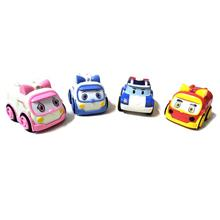 4 In 1 Robocar Poli Cars Vehicle Children Toys Present Birthday Gift