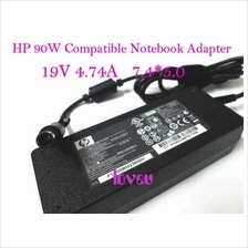*HP Compatible ^Laptop Notebook Power Adapter 90W 19V 4.74A- Big Head