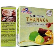 1 piece K Brothers Thanaka Lemon Honey Whitening Soap