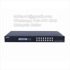 8x8 HDMI 2.0 Matrix Switcher Support 4K@60hz YUV4:4:4, 18Gbps, HDR
