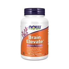 US. NOW Supplements, Brain Elevate, Featuring Ginkgo Biloba, RoseOx and Phosph