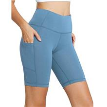 "(FROM USA) BALEAF Women's 8 "" /5 "" /2 "" High Waist Workout Bike"