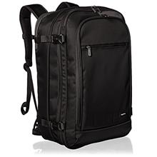 (FROM USA) AmazonBasics Carry-On Travel Backpack - Black
