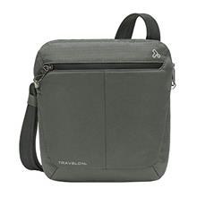 (FROM USA) Travelon Anti-Theft Active Small Crossbody, Charcoal, One Size