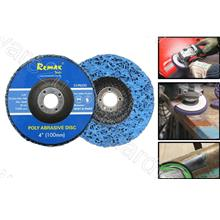 Rust & Paint Stripper Poly Disc 100mm (33PB200)