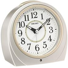 (FROM USA) SEIKO CLOCK ( Seiko clock ) automatic lights alarm clock ( silver )