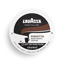(FROM USA) Lavazza Perfetto Single-Serve Coffee K-Cups for Keurig Brewer, Dark