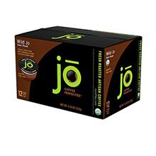 (FROM USA) WILD JO: 12 Cup Organic Dark French Roast Single Serve Coffee for K