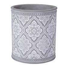 (FROM USA) Kitchen Cooking Utensil Holders | Fine Embossed Cement Utensils Cro