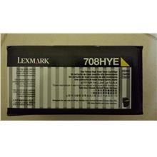 Lexmark Cartridge 708 Yellow (Genuine) 708HYE 3K CS310 CS410 C510 708