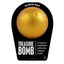 US. Da Bomb Treasure Bath Bomb, Gold