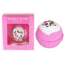 US. Birthday Cake Bubble Bath Bomb by Two Sisters Spa. Large 99% Natural Fizzy