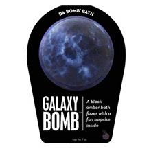 US. Da Bomb Galaxy Bath Bomb, Black