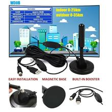 HDTV INDOOR OUTDOOR ANALOG & DIGITAL DTV ANTENNA 30dBi dttv freeview