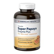 *Original* From USA American Health Super Papaya Enzyme Plus Chewable Tablets,