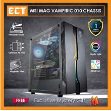 MSI MAG Vampiric 010 RGB Tempered Glass Mid Tower Gaming Computer Chas