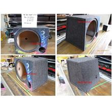 AB Woofer Box Single Hole 12inch