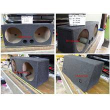 Carpet Woofer Box Double Hole 12inch