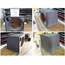 PVC Economy Woofer Box Single Hole 12inch