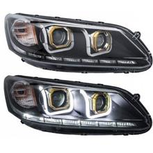 EAGLE EYES HONDA ACCORD '12 U Style LED DRL Projector Head Lamp