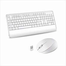 ..// Wireless Keyboard and Mouse Combo, 2.4GHz Ergonomic Computer Keyboard and