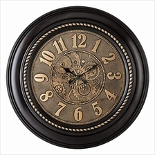 ..// Pacific Bay Rodalben Giant Decorative Light-Weight 24-inch Wall Clock Sil