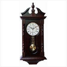 ..// Vmarketingsite Wall Clocks: Grandfather Wood Wall Clock with Chime. Pendu