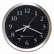 "..// Bjerg Instruments Modern 12 "" Stainless Silent Wall Clock with Non T"