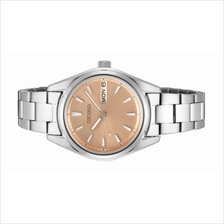 SEIKO Ladies Analog Sapphire Glass Day Date Watch SUR351P1
