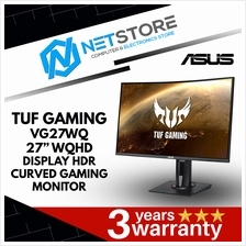 "ASUS TUF GAMING VG27WQ 27"" WQHD CURVED GAMING MONITOR - 165Hz, 1ms"
